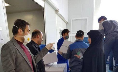 تحویل مرحله اول پک های بهداشتی به شهرداری های گرگان و گنبد