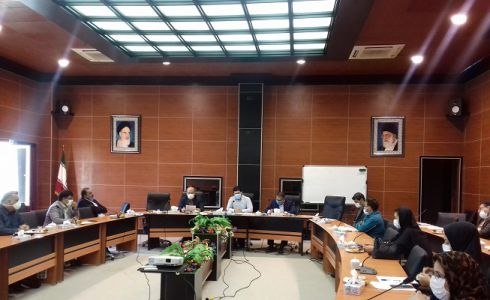 جلسه هماهنگی با رابطین بخشداریهای استان